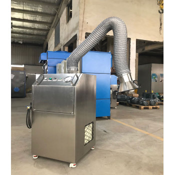 Unidad portátil de extracción de humos de alta presión portátil para soldadura, corte térmico, antorcha