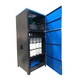 Coletor de pó do filtro de cartucho com unidade de filtro de tremonha de pó