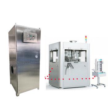 Prensa de tabletas / Cápsula de llenado Deduster Cartucho Extractor de polvo