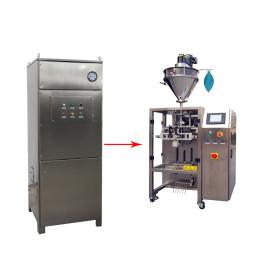 Extrator de pó da máquina de enchimento do pó do coletor de poeira da máquina de embalagem Deduster da máquina de envolvimento do fluxo
