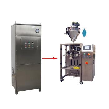 آلة التعبئة آلة تعبئة مسحوق الغبار آلة تعبئة الغبار النازع آلة تغليف التدفق Deduster