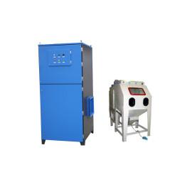 Máquina de chorro de arena Unidad de extracción de polvo Tipo de succión Colector de polvo de chorro