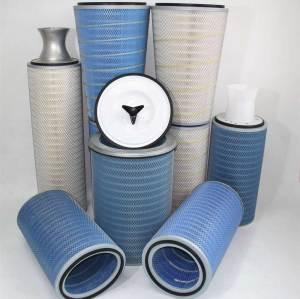 100% Polyester Washable DFO Dust Cartridge Filter-Donaldson Ultra-web/Torit-Tex MERV 15