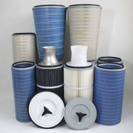 100% Polyester Washable DFO Dust Cartridge Filter-Donaldson Ultra-web/Torit-Tex MERV 15