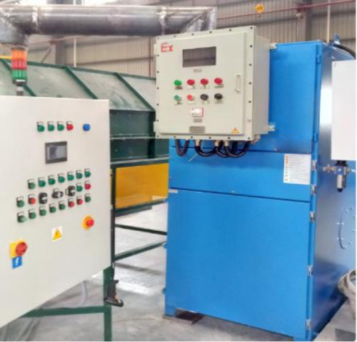 Anti-Explosive Air Filter Unit for Ballast/Powder Screening Device-Self Cleaning ATEX Dust Collector