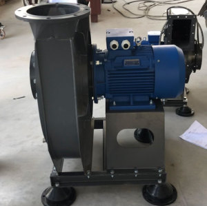 High Pressure Centrifugal Fan for Pharmaceutical Usage-Fluidized Bed Granulator Blower