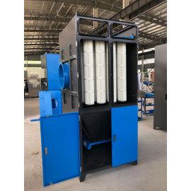Unidade de filtro coletor de pó de cartucho sem configuração individual de ventilador-ventilador