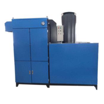 Filtro de impulsos de chorro con unidad de filtro de recolección de polvo con límite de altura y posición lateral del ventilador