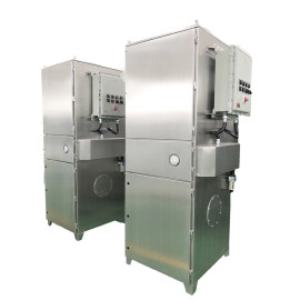 Stainless Steel Dust Extractor for Corrosive Dust/Pharmaceutical Cleanroom/Electronic Factory