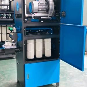 مجمع غبار الفراغ الصناعي عالي الضغط للغلايات ، ووضع الأقراص ، وآلة تعبئة الكبسولة