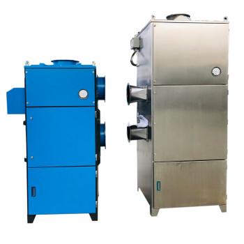 Extractor de polvo de la máquina de succión de polvo de cartucho industrial con ventilación de explosión