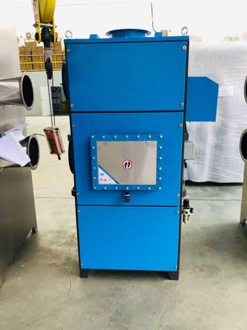 خرطوشة شفط الغبار الصناعية آلة شفط الغبار مع تنفيس الانفجار