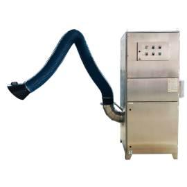 Colector de polvo de cartucho tipo chorro con brazo flexible ·