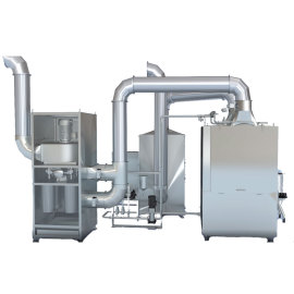 Dust Extractor for Pharmaceutical Tablet Film Coating Machine Sugar Tablet Coater