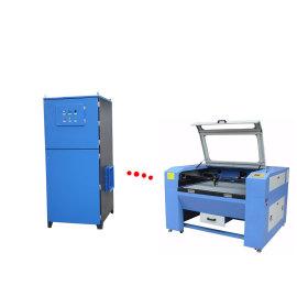 Extractor de humos con grabador láser, sistema de extracción de humos industrial