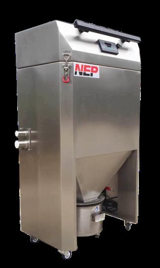 المحمولة لوحة الغبار متكلس جمع آلة 220V ارتفاع ضغط الغبار النازع VFD