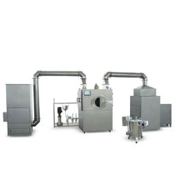 Extrator de poeira para máquina de revestimento de filme de comprimido farmacêutico Revestidor de comprimido de açúcar