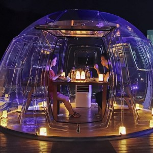 MiicoFun Transparent (Clear) Bubble House for Restaurant or Garden Igloo