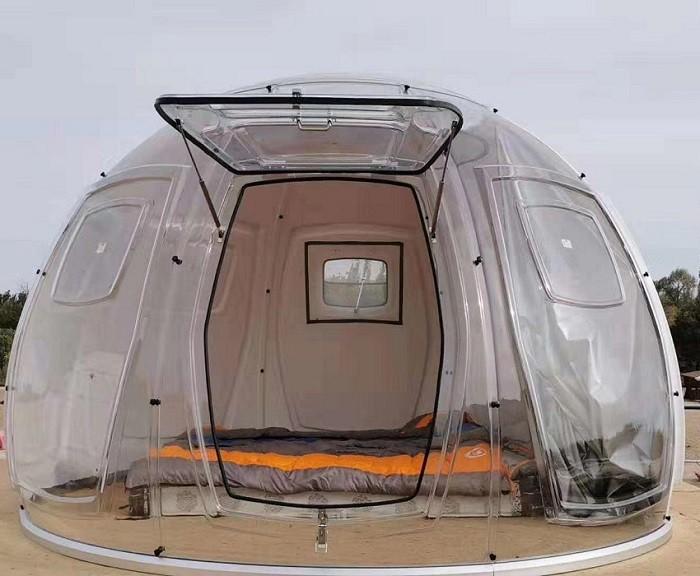 How many types of bubble tents MiicoFun produces?