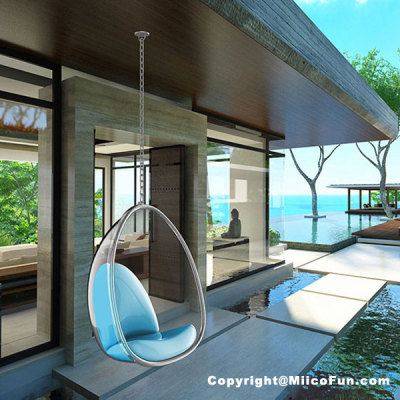 MiicoFun Polycarbonate Bubble Garden Hanging Chair-MF-HC-02