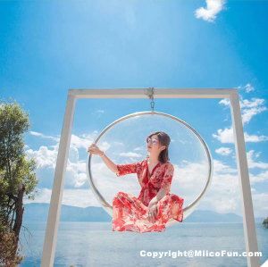 MiicoFun Polycarbonate Bubble Garden Hanging Chair-MF-HC-03
