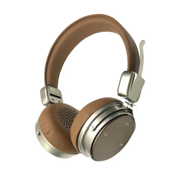CSR hi-res high end metallic foldable bluetooth headset