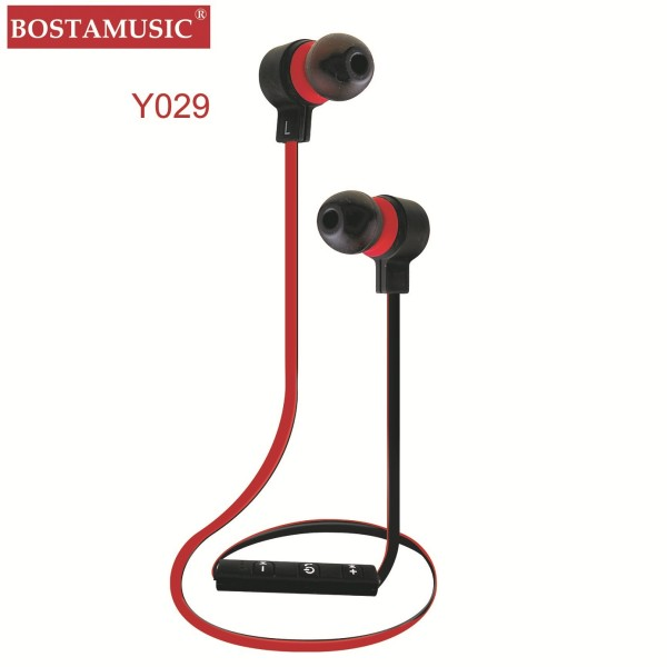 Factory manufacturing BQB high end rubberized bluetooth earphones