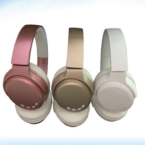 Metallic color premium mobile 5.0 sports bluetooth headsets