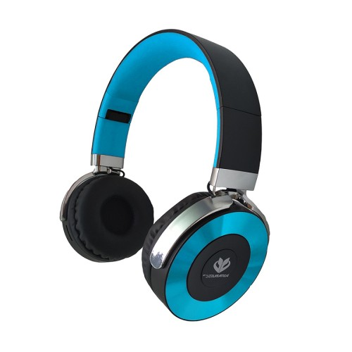 3 in 1 faltbare Stereo-Großhandelsmetallplatte FM TF-Karte bluetooth Kopfhörer