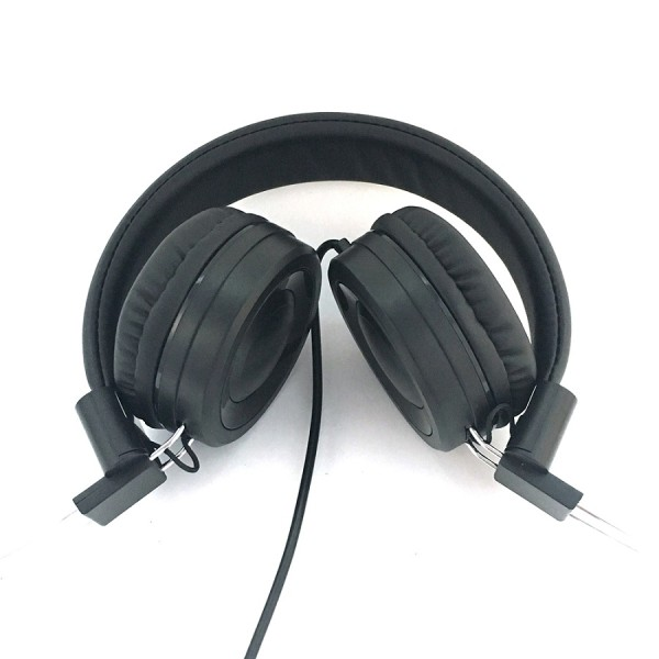 Cool colors public school children library language learning headphone
