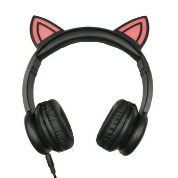 Promotion de cadeau LED OEM mode animaux oreilles mignons enfants écouteurs Caractéristiques