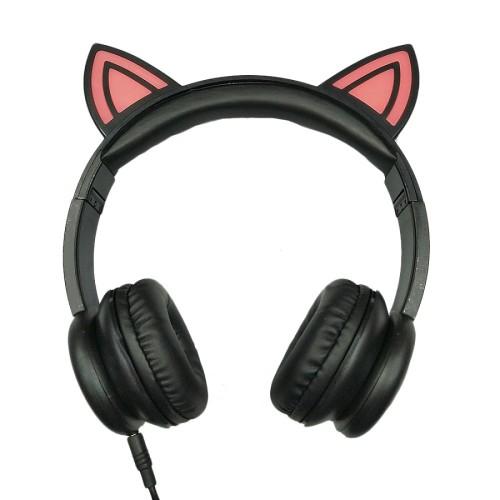 Geschenk Förderung LED OEM Mode Tier Ohren niedlichen Kinder Kopfhörer Kopfhörer Features: