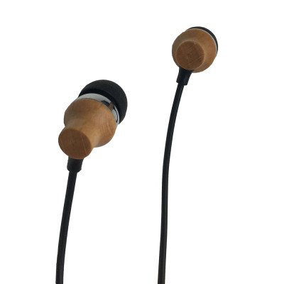 Accoustic V5.0 Wooden Bluetooth Earphones for All Smartphones