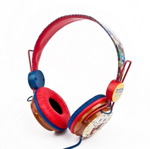 Amazing Sound Marvel 85dB Batman Superman Cartoon Colorful Headphone