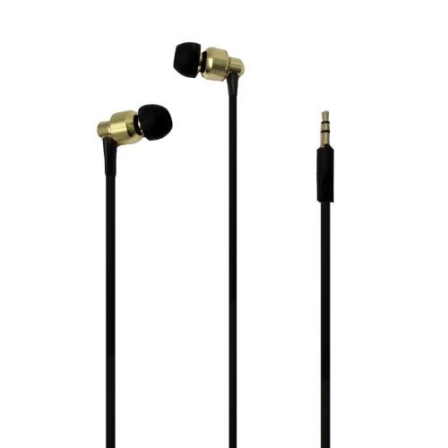 Stereo-Hifi-Goldbuchse wirtschaftliche In-Ear-iPhone-Kopfhörer mit Mikrofon