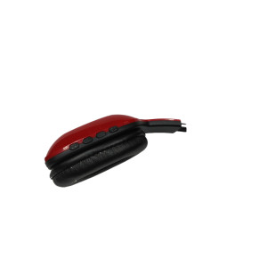 Fashion and new wireless stylish portable red and black bluetooth technology headset