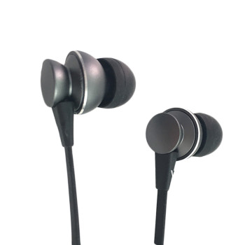 Metal in ear wireless hifi stereo bluetooths earphone For Mobile phone