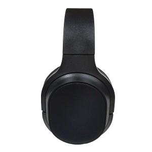 Los fabricantes de orejeras grandes usan una cabeza de reducción de ruido cómoda usan auriculares Bluetooth