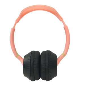 Fashion simple color bilateral rotatable headband wear wired headphone