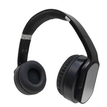 Metallic fashion design 360 degree rotatable circumaural bluetooth headset
