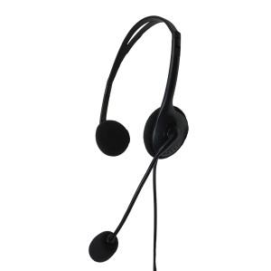 Kostengünstiges Mono Call Center Headset mit geräuschunterdrückendem Mikrofon