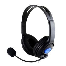 Stay at home social distancing on-line language learning headset with noise canceling microphone