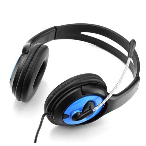 Bleiben Sie zu Hause sozial distanziertes Online-Headset zum Sprachenlernen mit Geräuschunterdrückungsmikrofon