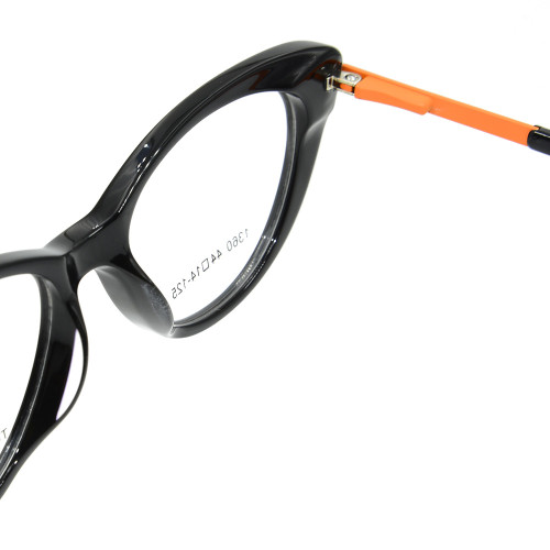 Venta caliente Mejor Calidad Vogue Nuevo Diseño Niños Gafas Acetato Óptico Marco de gafas para niños