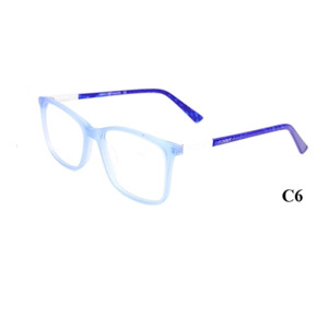 El color del caramelo de la moda de alta calidad embroma las monturas ópticas del acetato fino barato barato marcos