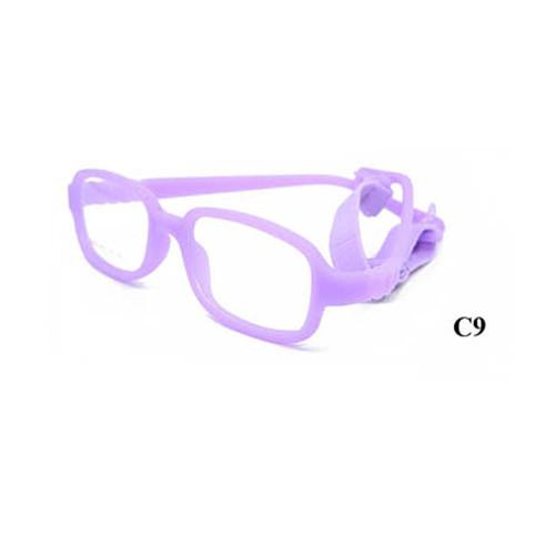 Los niños seguros de alta calidad óptica rame 14 colores TR90 Marco de lentes de bebé flexible para niños