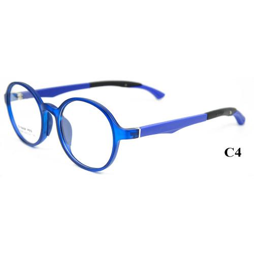 Marco de los vidrios ópticos del templo ajustable de alta calidad al por mayor TR90 de los niños para los adolescentes