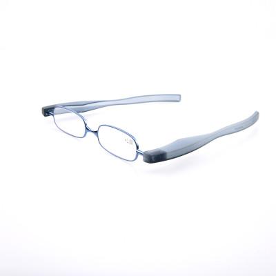 Оптовая новинка пластиковые рамы реверсивные регулируемые складные очки для чтения для мужчин, женщин