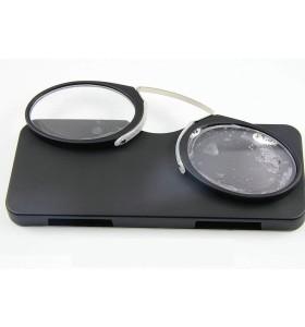الجملة الساخن بيع انحناء نظارات القراءة الجيب المعدنية مع الأسلحة خارج مريحة للقيام