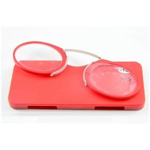 Venta al por mayor venta caliente de metal plegable bolsillo gafas de lectura con los brazos hacia fuera conveniente para llevar